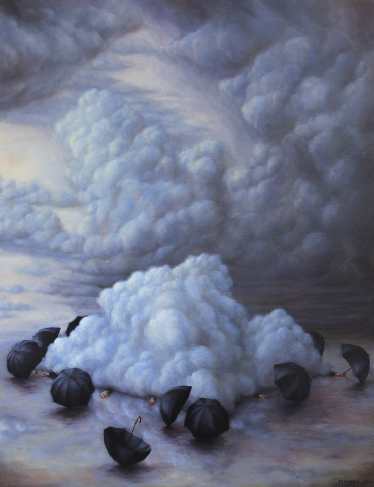 BrunoPontiroli - Untitled, oil on canvas, 116 x 89 cm, 2011