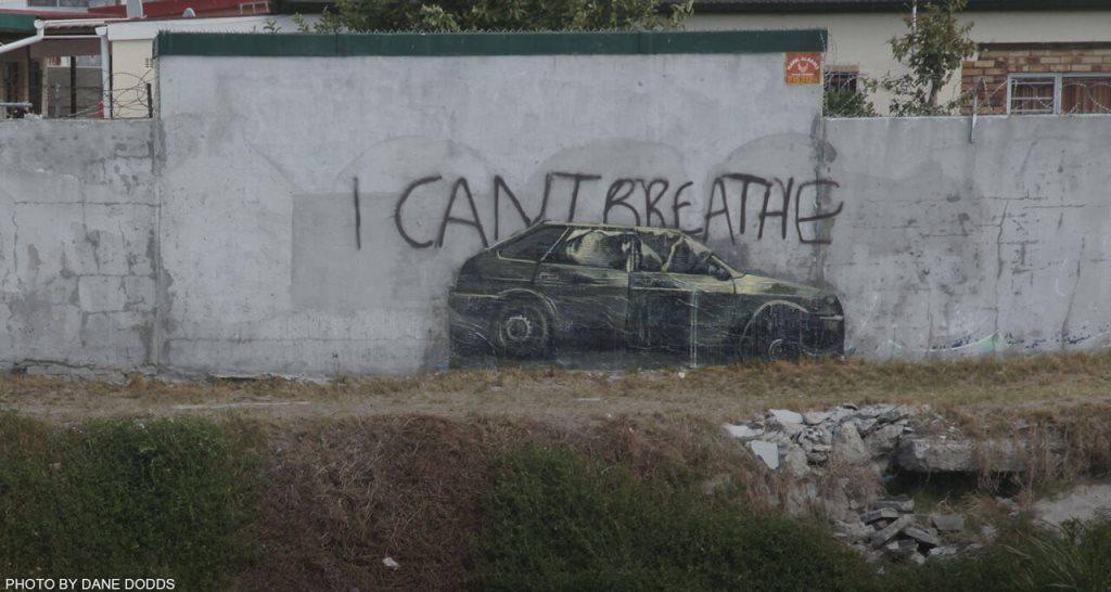 Faith47 - I can't breathe/ Photo by Dane Dodds
