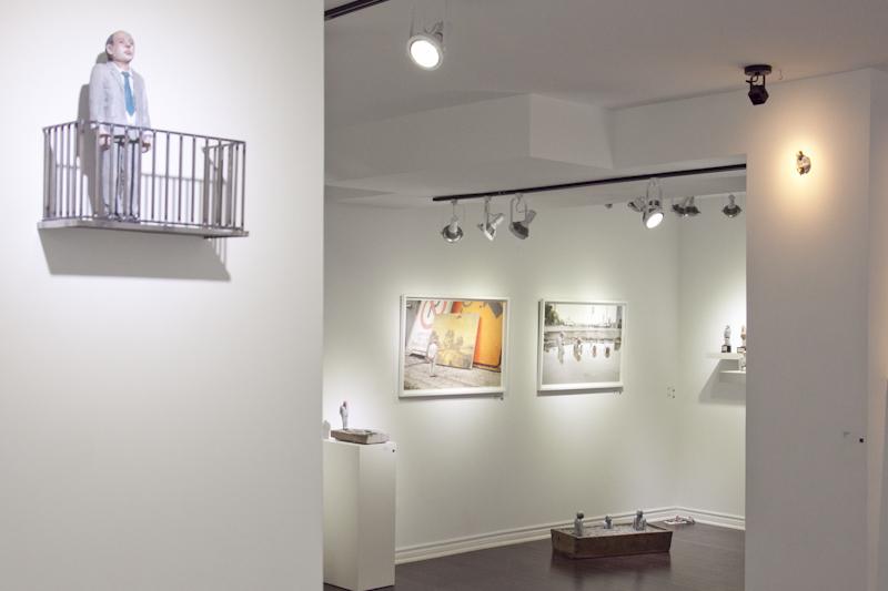 Isaac Cordal / Photo via C.O.A. Gallery