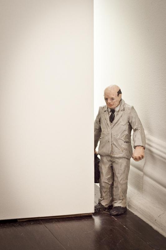 Isaac Cordal / Photo: C.O.A. Gallery