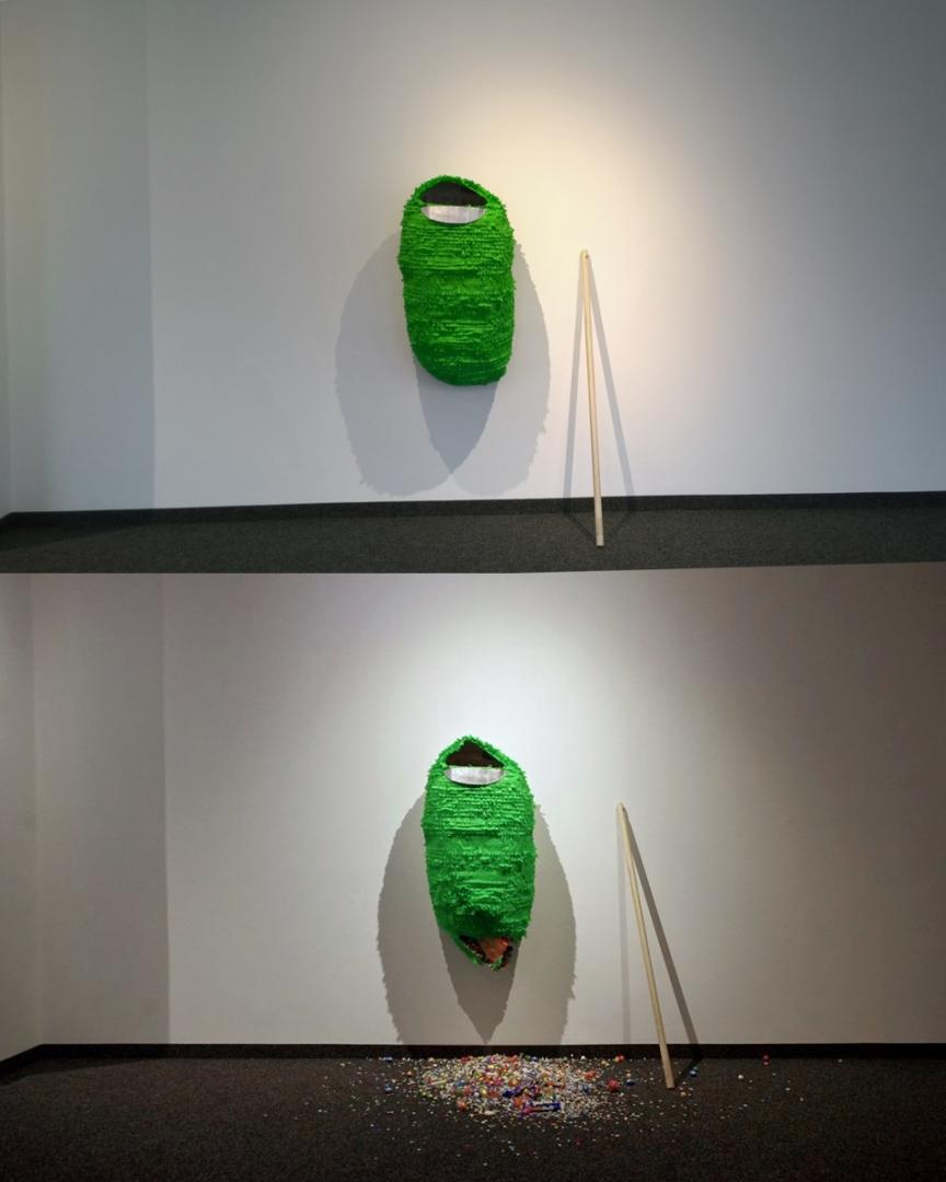 ToniSpyra - Piñata - 80 x 45 x 30cm, Fridanormajeane, Herten, Germany, 2015