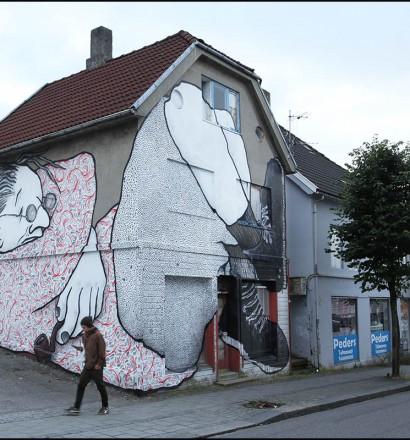 Nuart 2015 / Ella&Pitr. Photo: Ian Cox, 2015