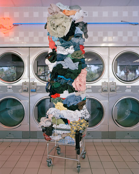 DavidWelch - Material World - Laundry Totem, 2011