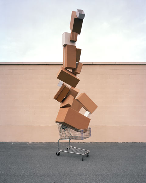 David Welch - Material World - Shopping Totem, 2011