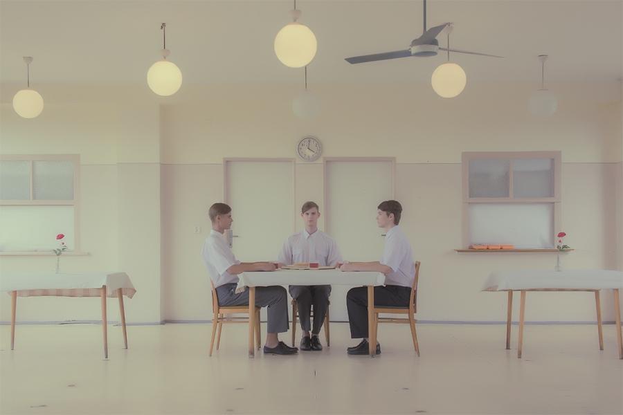 MáriaŠvarbová - The Dining Room series
