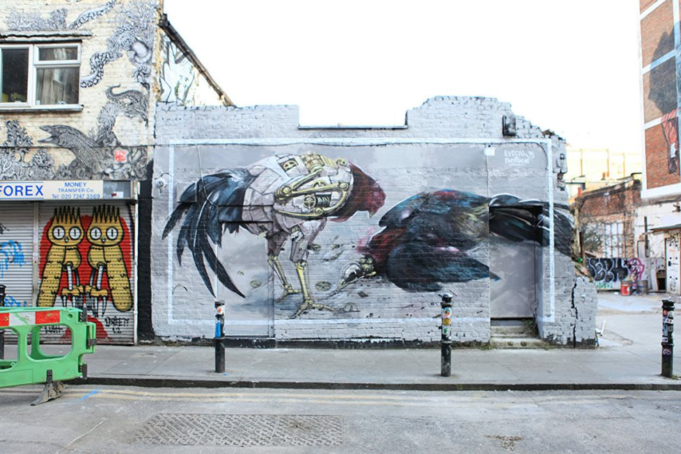 Pixelpancho & Evoca1, London, 2015
