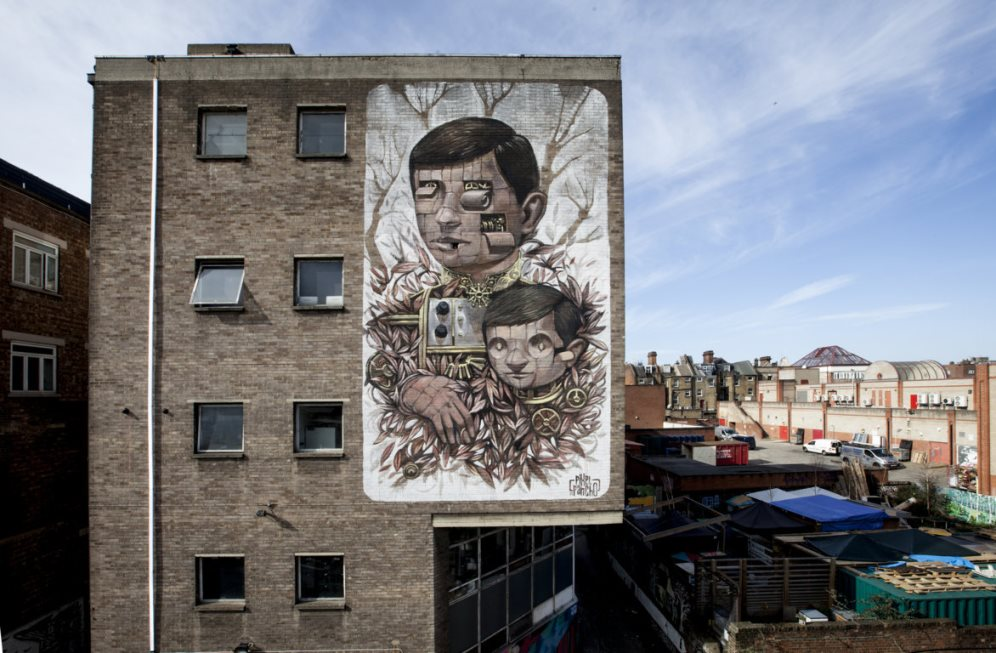 Pixelpancho - Father's love, London, 2015
