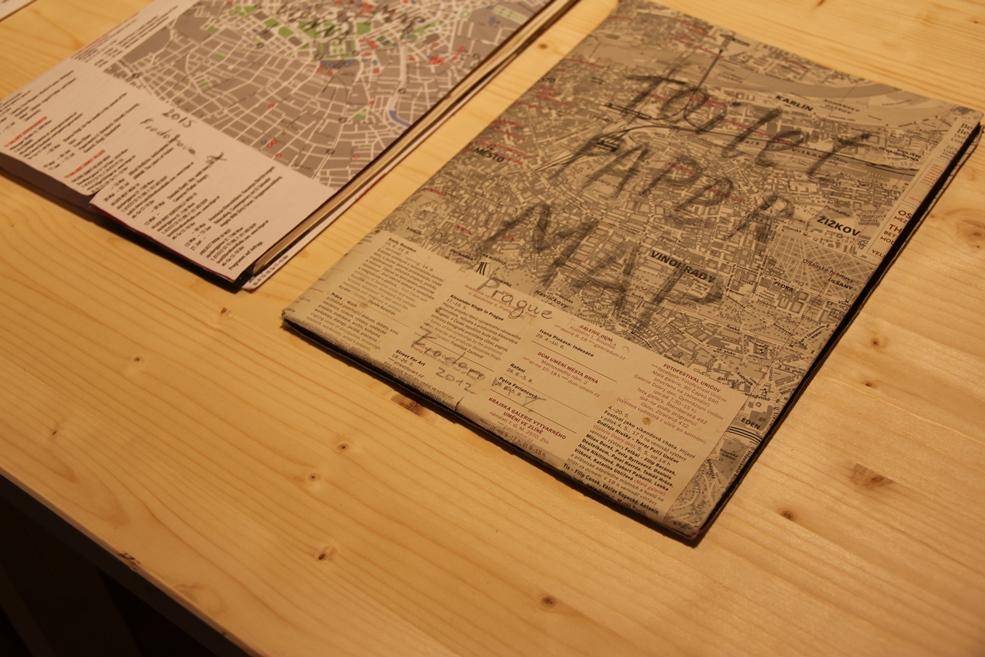TatianaFiodorova - Toilet Paper Map, 2012-2016 / Future Museum