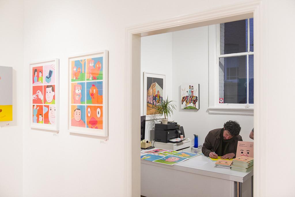 JoanCornellà - opening Spoke Art / Photo: Shaun Roberts