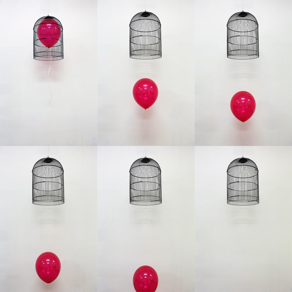 MyeongboemKim - Untitled, balloon, steel