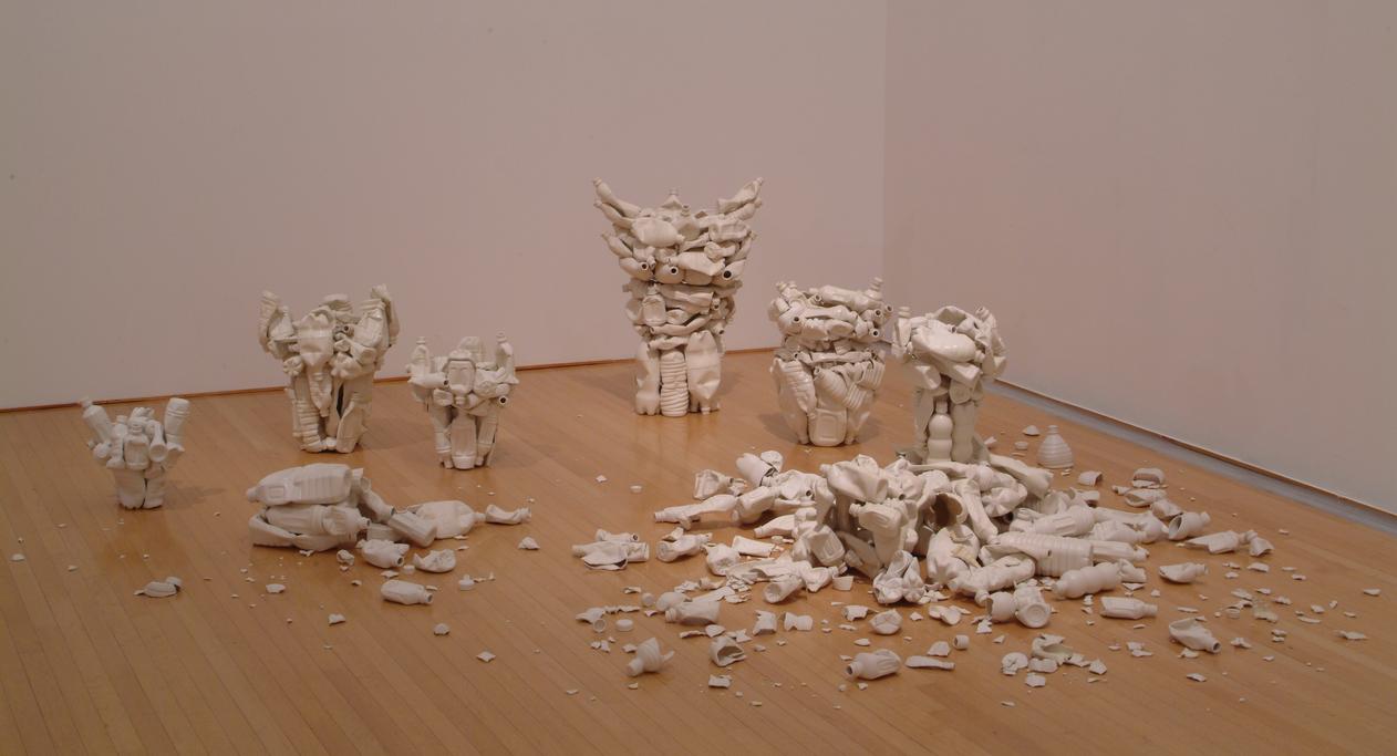 Ruriko Miyamoto - Pots for the 20th Century, 2010, Toyota Municipal Museum of Art, Aichi Japan