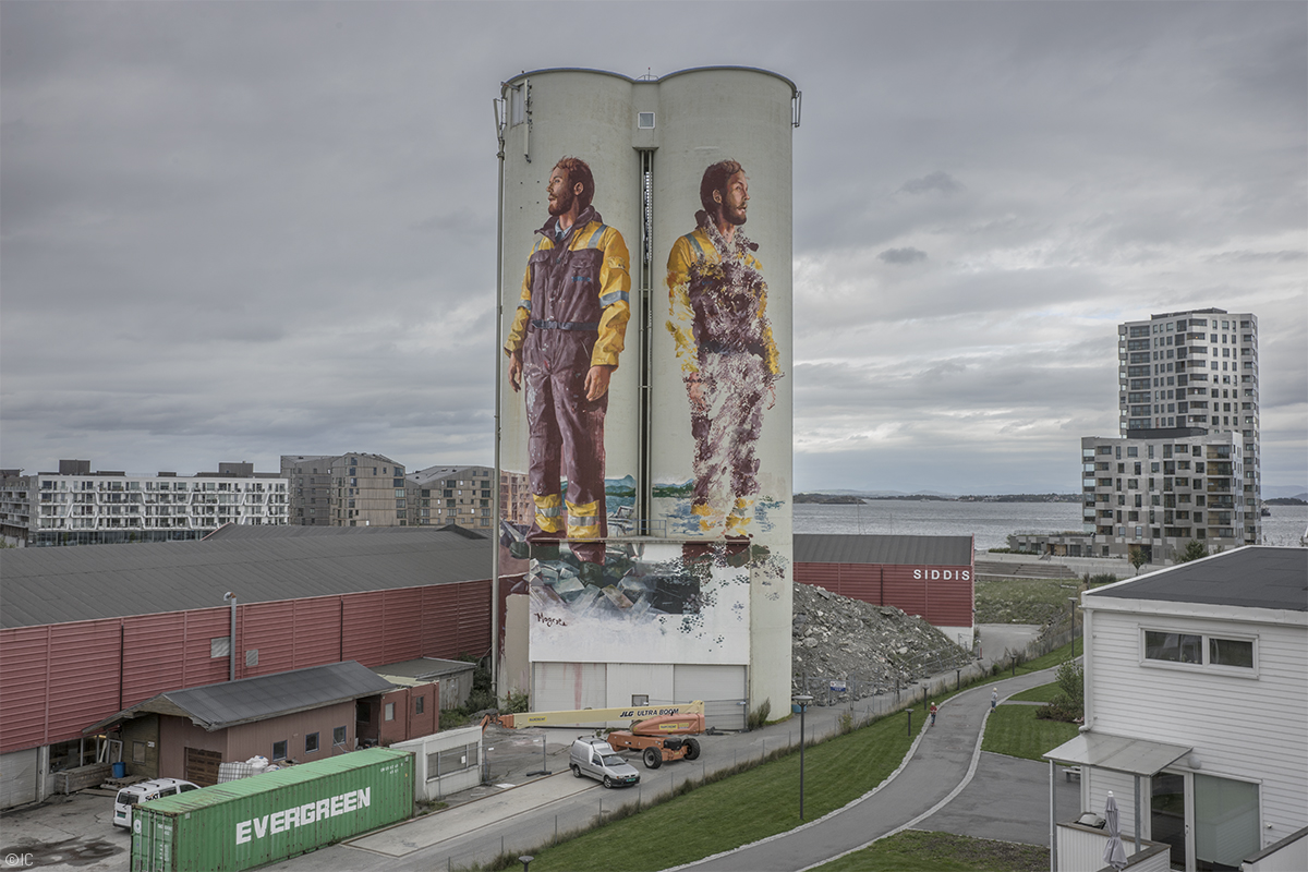 Nuart 2016 - Fintan Magee, Photo: Ian Cox