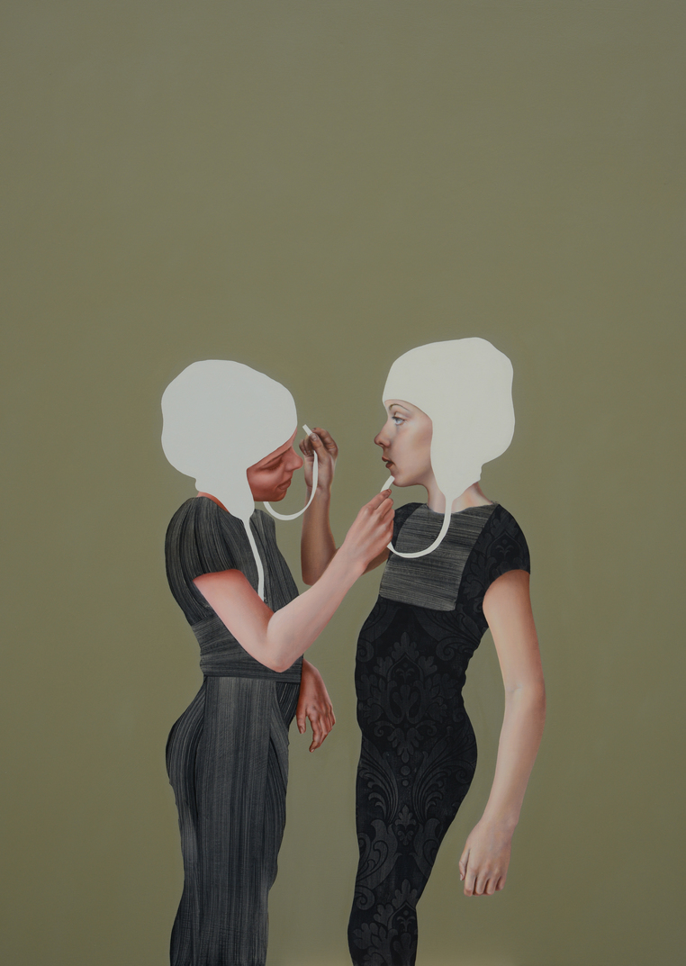 Pippa Young - Self-construction, 95x125 cm