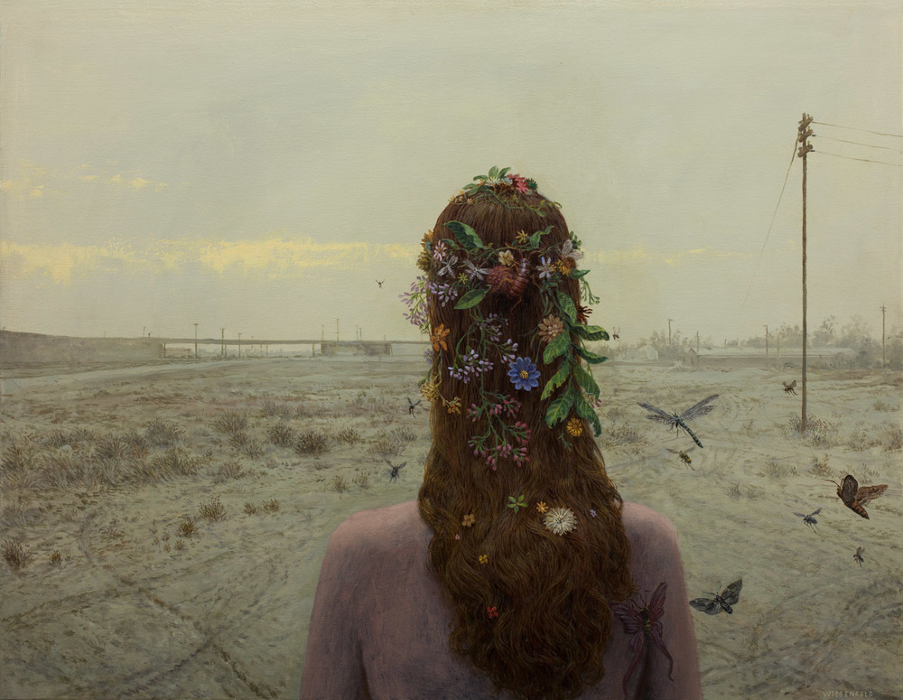 Aron Wiesenfeld - Homecoming, oil on canvas, 26.5 x 34 in., 2014