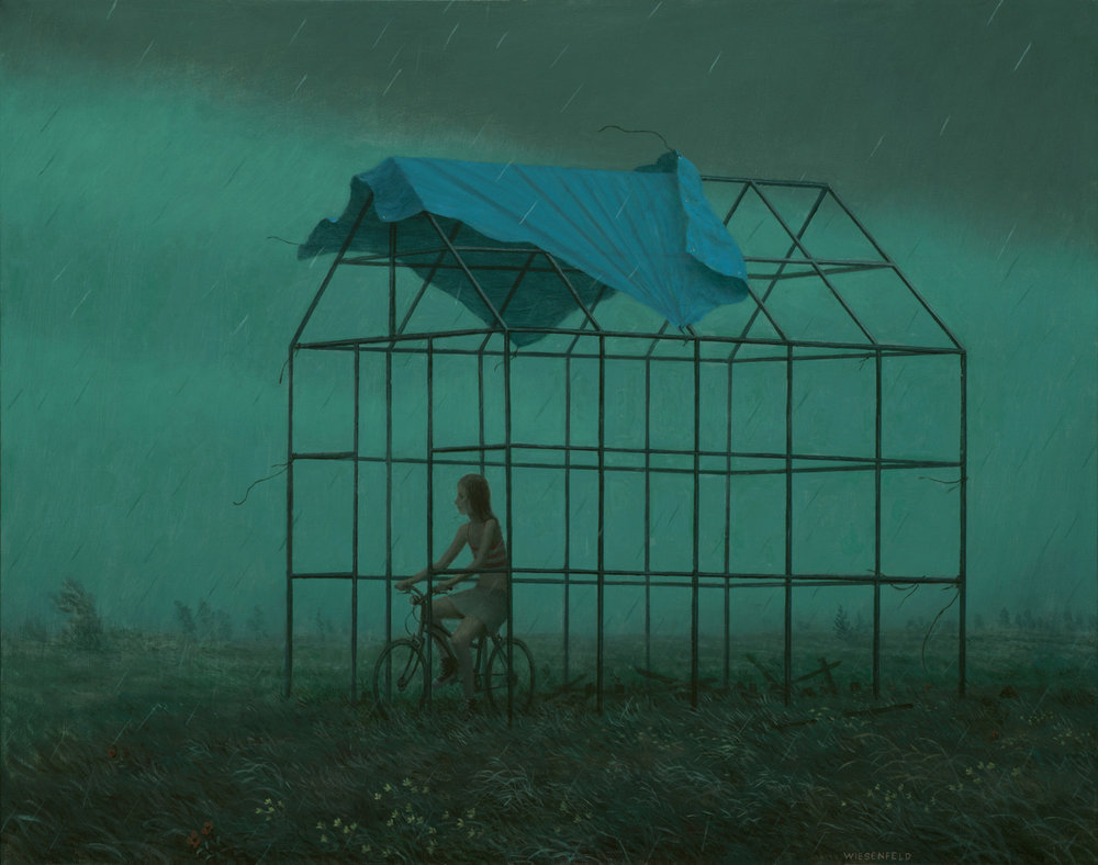 Aron Wiesenfeld - The Off Season, oil on linen, 26 x 33 in., 2016