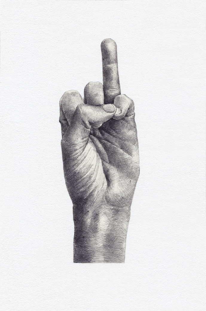 FSTN - Orde et Désordre series, ballpoint pen on paper, 22x32 cm, 2016