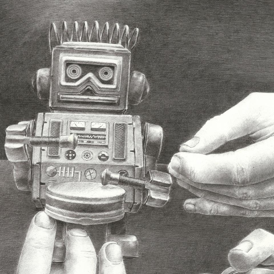 Pierre Coubeau FSTN - Toy, ball-pen on paper (detail)