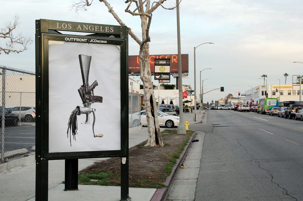 ICY and SOT - Ad takeover, Los Angeles, California