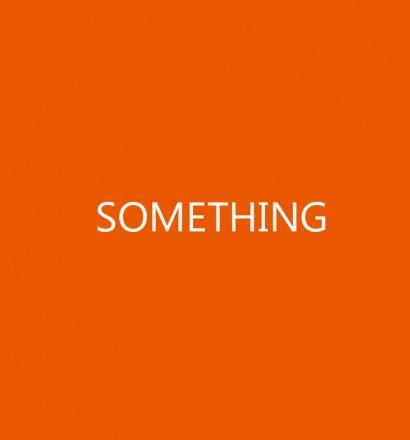 SOMETHING - post