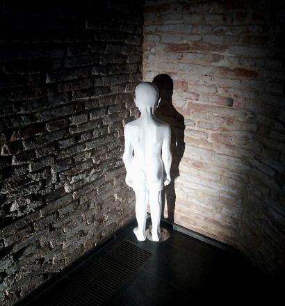 Michele Bressan - Corner, object, 167x63 cm, 2014