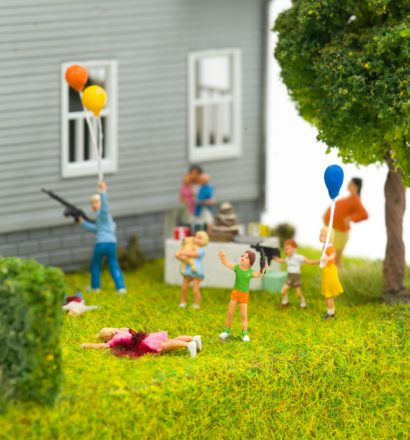 Abigail Goldman - Blow Out Candles & Blow Up (detail)